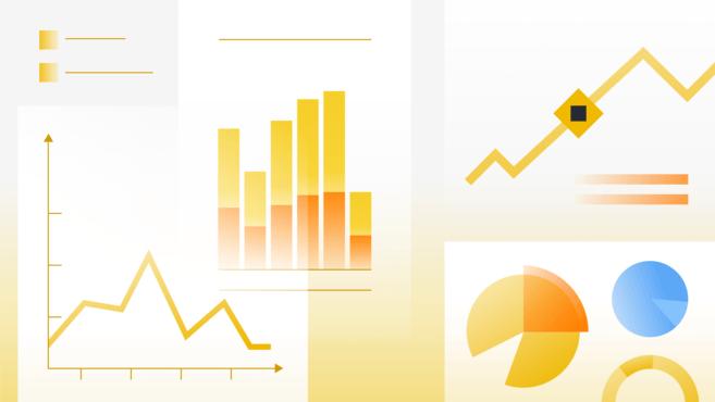 Minh họa số liệu tài chính