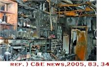 研究室の火事