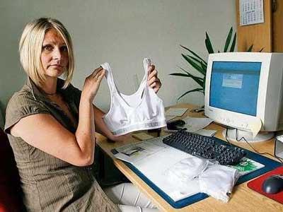 Ini dia bra tersebut, lengkap kok untuk ukuran tocil sampai toge ha ha ha ha