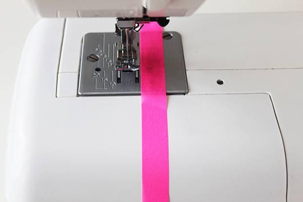 Nähen für Anfänger mit farbigem Tape