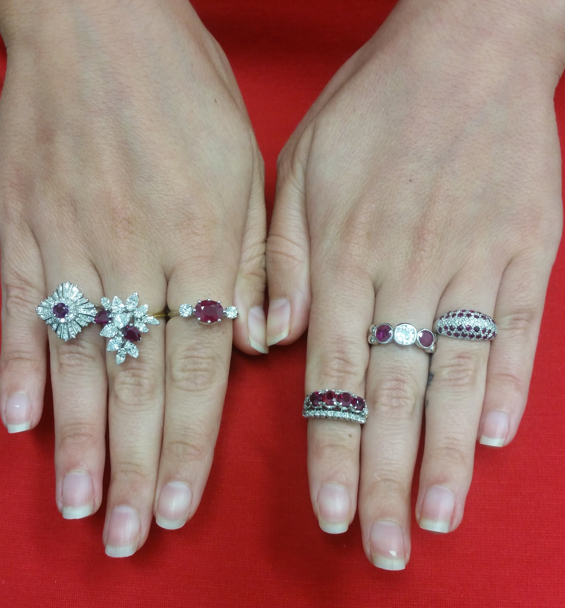 Amazing Antique Ruby Engagement Rings Brilliant Earth