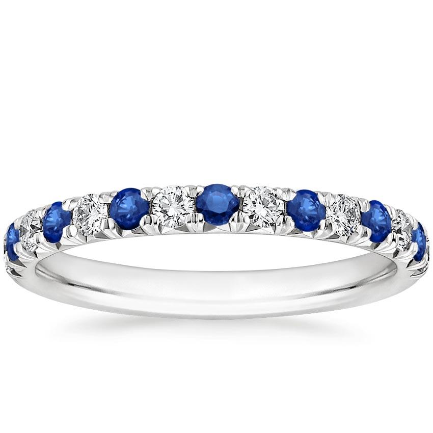 Pav Sapphire And Diamond Ring Sienna Brilliant Earth
