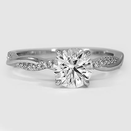 Trendy Wedding Rings In 2016 Platinum Twist Wedding Rings