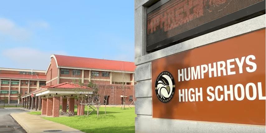 Menu 360 Camp Humphreys