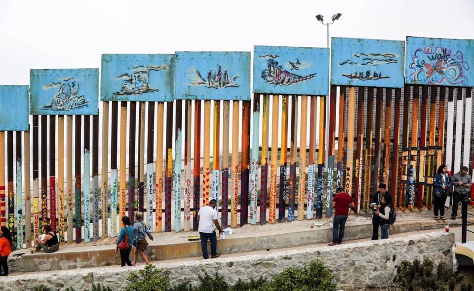 Wall Mexico Border Guatemala Long How