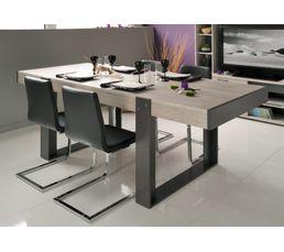Table De Sjour STAN Beige Et Gris Tables BUT