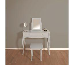 console 1 tiroir barroco gris
