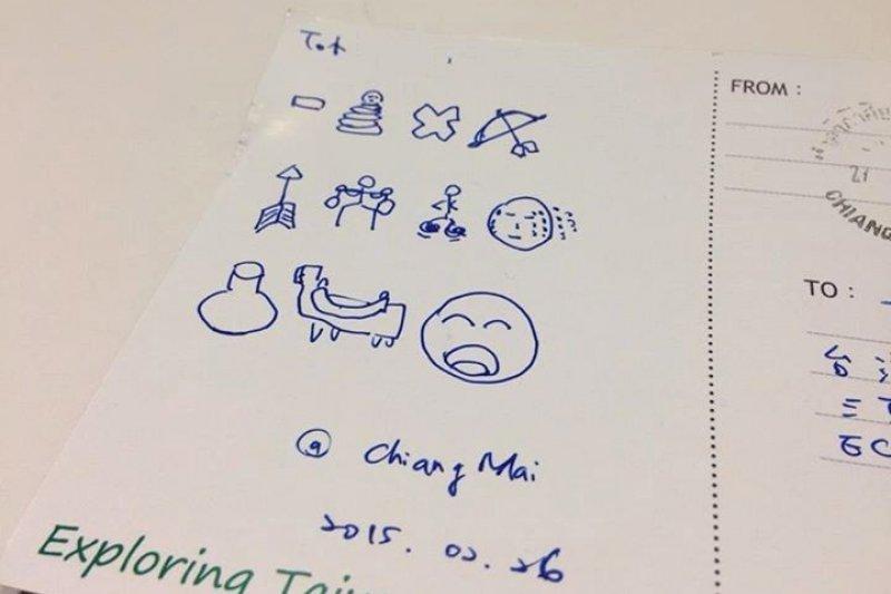 【獨家】PTT鄉民熱烈討論的「圖文並茂的明信片」正解在這-風傳媒