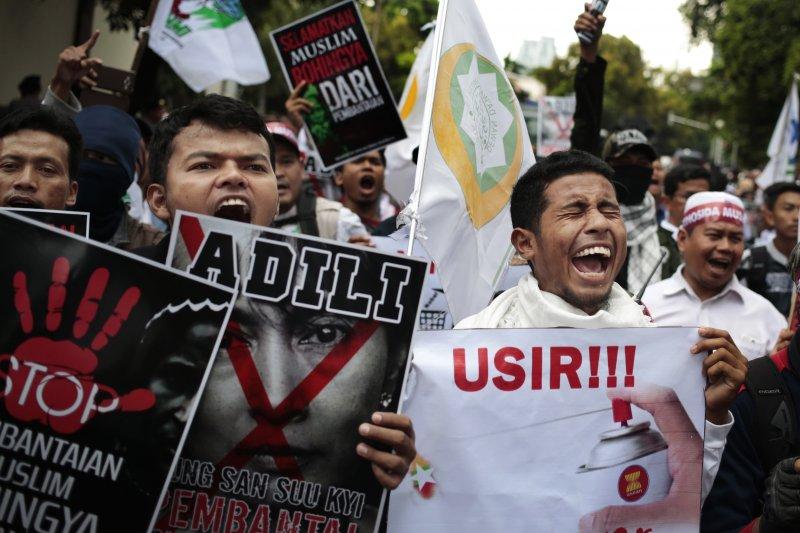 控緬甸種族淨化羅興亞人 東南亞各國爆示威-風傳媒