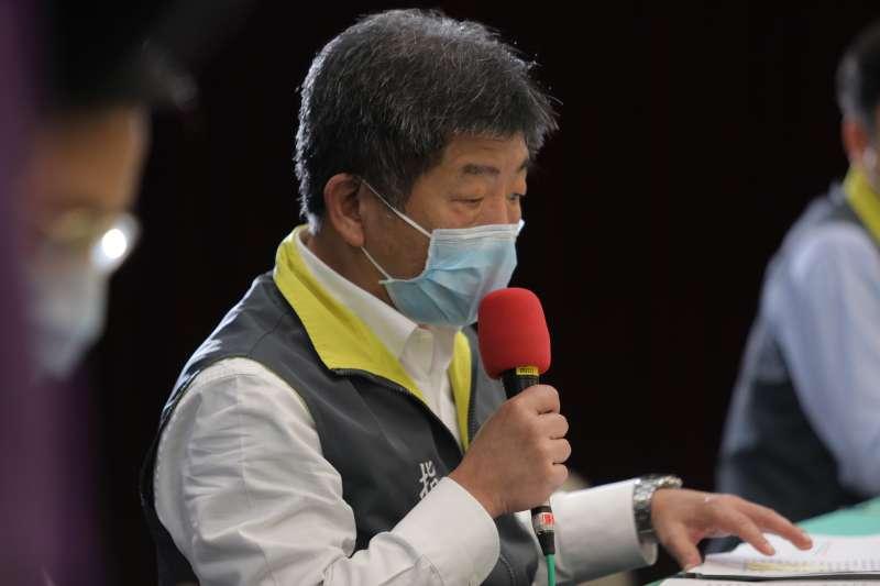 臺灣連3天零確診 綠委公開陳時中寫的感人小紙條-風傳媒