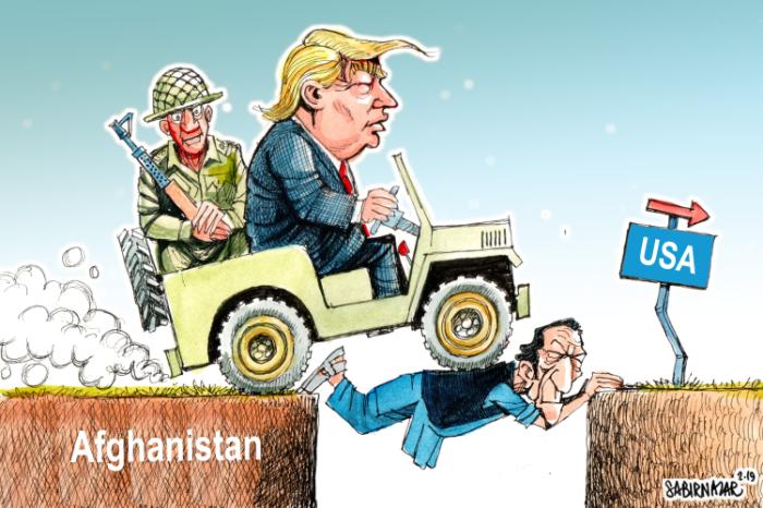 Editorial Cartoon: Pakistan role in Afghanistan