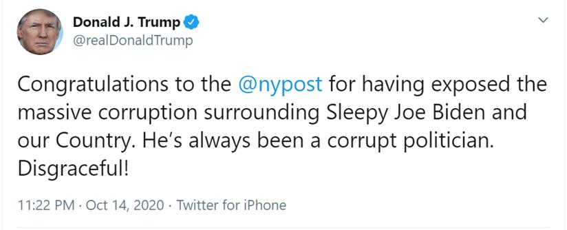 CORRUPTION SURROUNDING SLEEPY JOE BIDEN