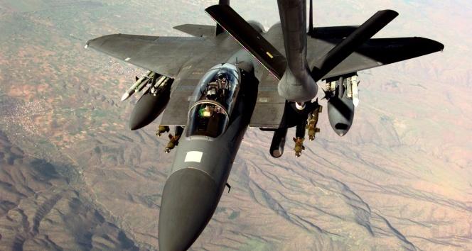F-16 uçaklarina milleti tespit edilemeyen uçaktan taciz!