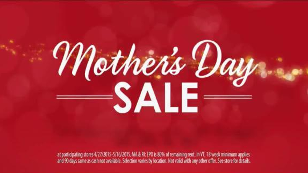 Rent-A-Center Mother's Day Sale TV Spot, 'Makeover