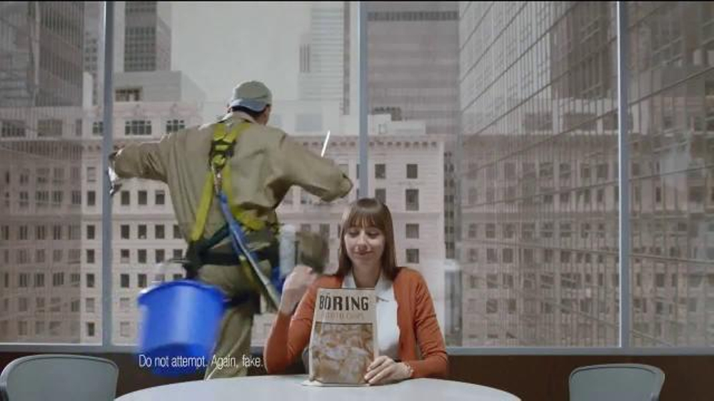 Chex Mix TV Spot, 'Decoy Bag' - Screenshot 8