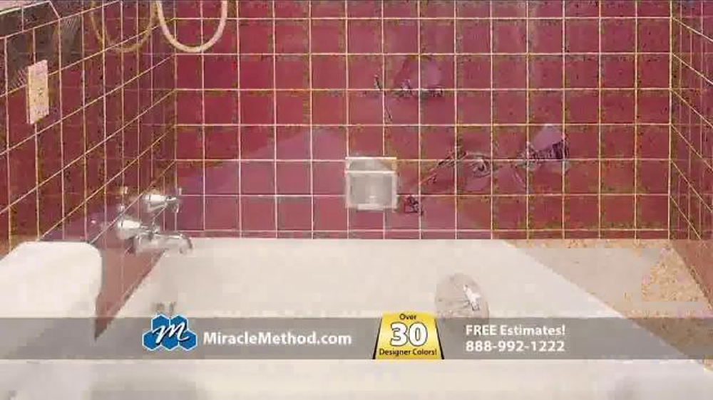 Miracle Method TV Spot Ugly Bathtub Or Shower ISpottv