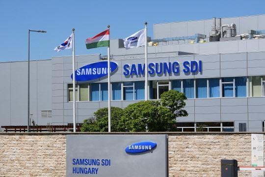 삼성 SDI, 헝가리 전기차 배터리 공장에 1 조원 투자