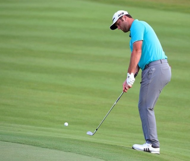 Jon Rahm Was Tied For The Lead Entering The Final Round Of Hero World Challenge