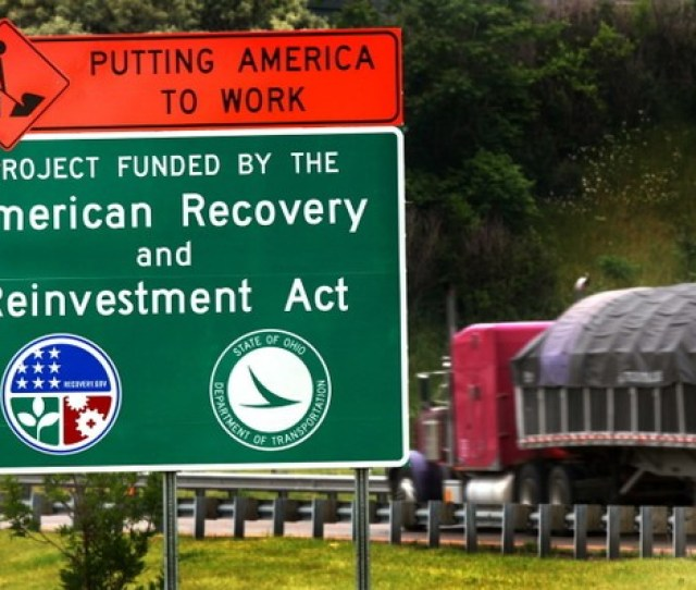 Ohio Used Money From The Obama Stimulus To Help Pay For Highway Construction And Repairs