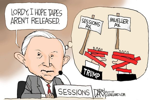 Attorney General Jeff Sessions testified before the Senate Intelligence Committee.