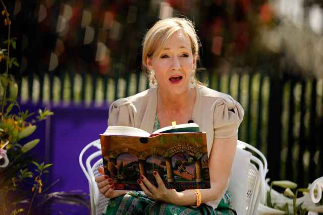 J.K. Rowling says she succeeded by breaking rules, not following them