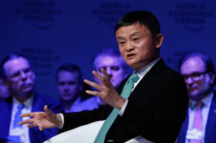 CNBC: WEF Davos 2017 Jack Ma 170118-002
