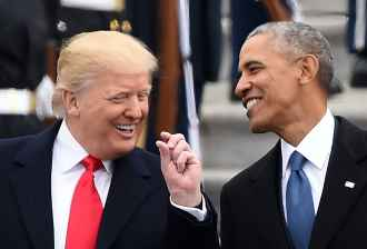 Image result for obama trump