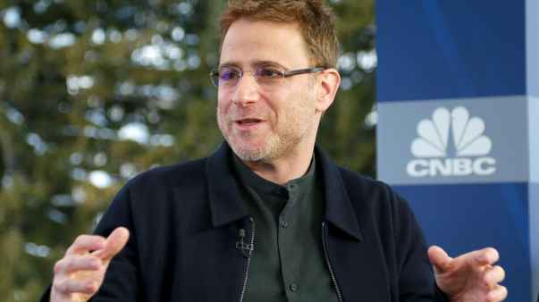 CNBC: WEF Davos 2018: Stewart Butterfield co-founder and CEO of Slack SB 180126-001