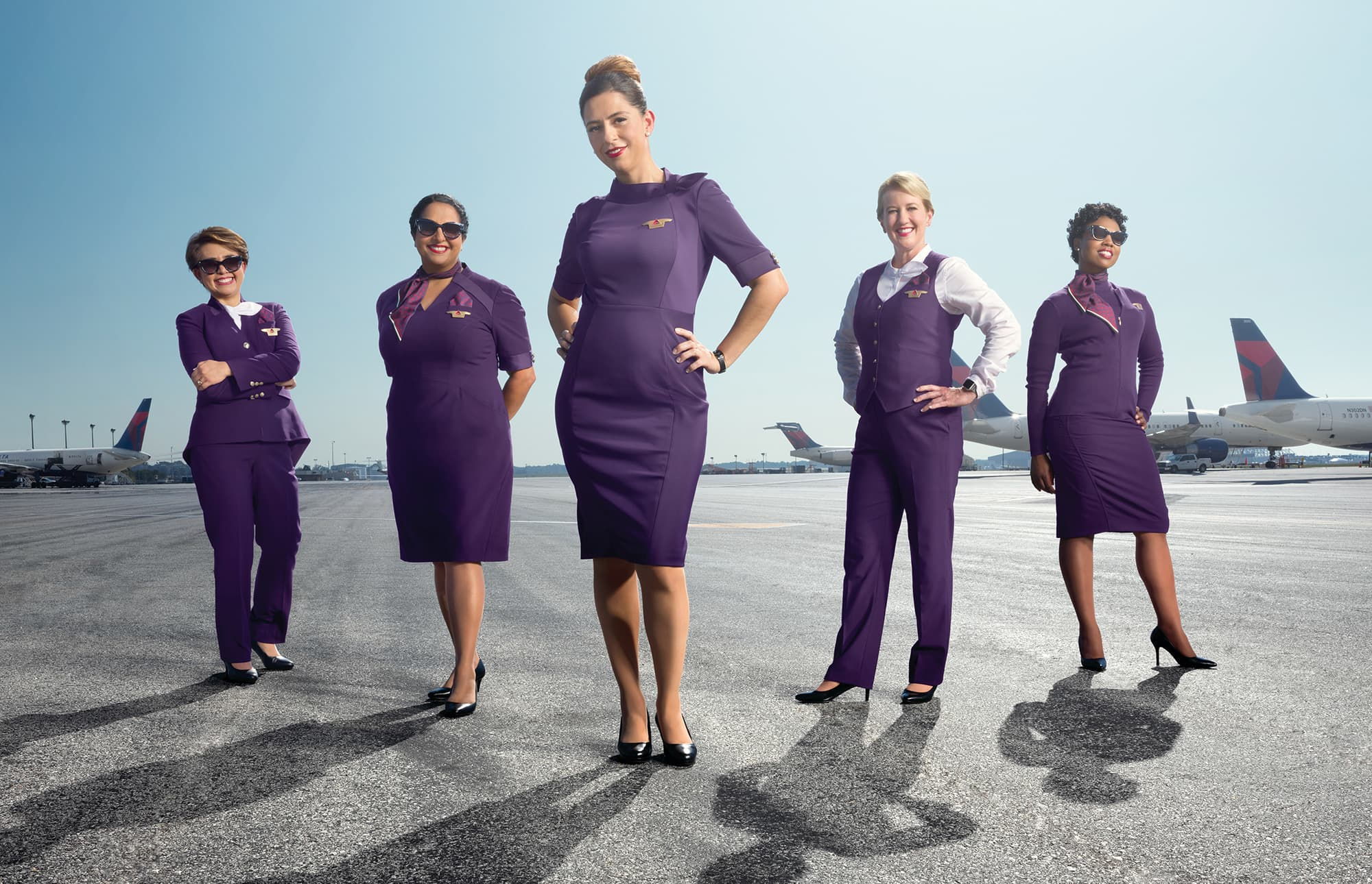 American Uniform Usa New Airlines