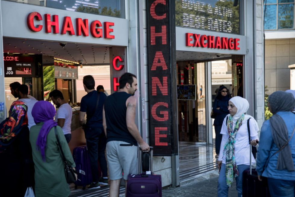 GS: Turkey currency exchange 180814