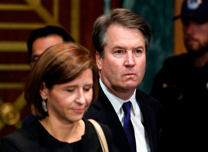 GP: Brett Kavanaugh and wife Senate sexual assault hearing 180927