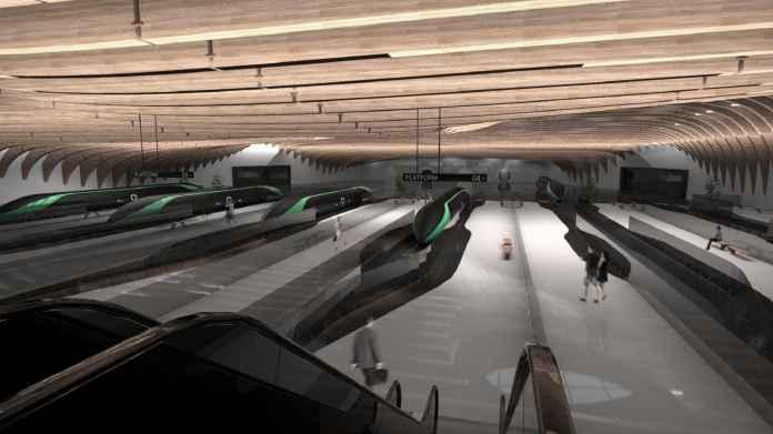 H/O: Delft hyperloop prototype station 190716