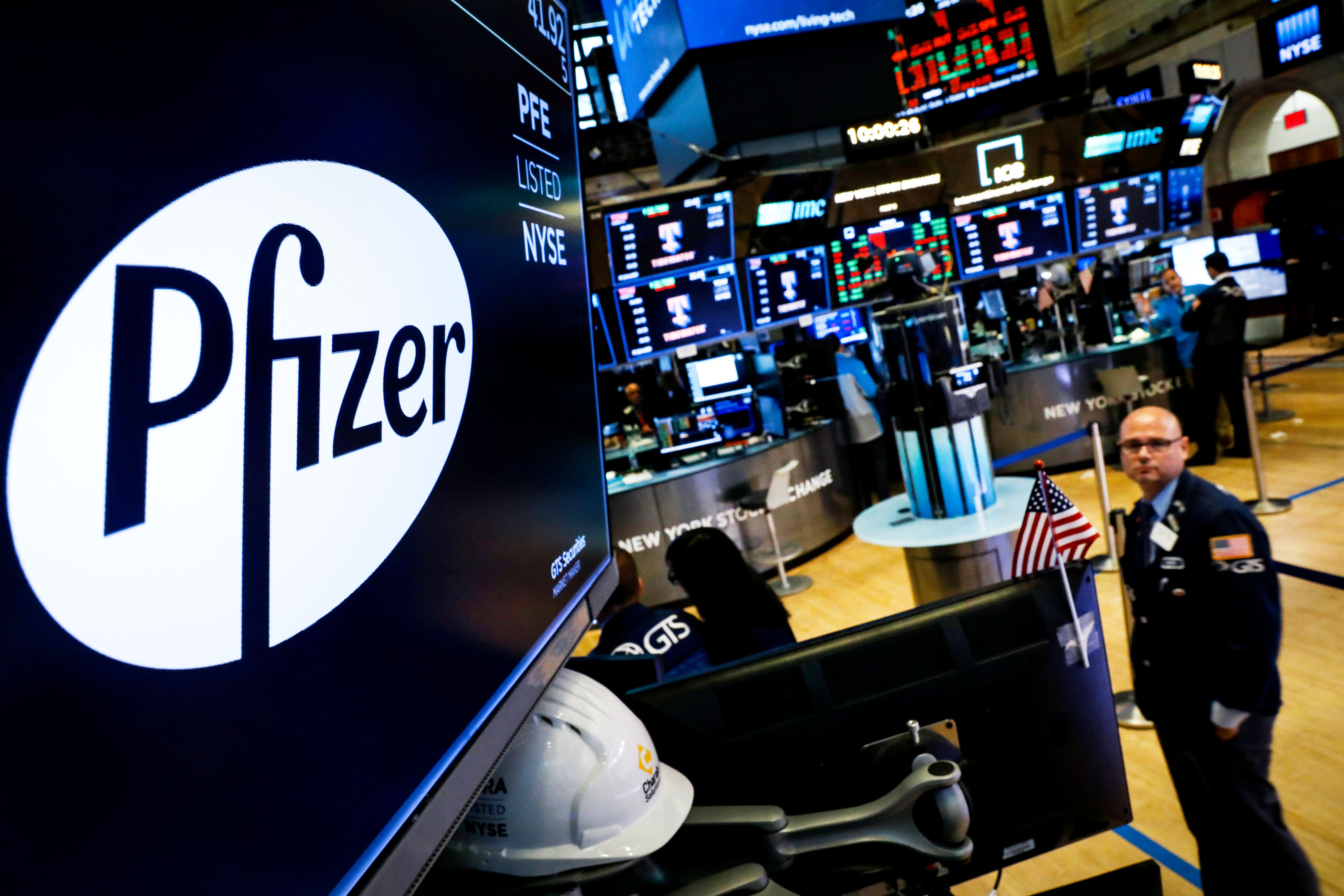 Stocks making the biggest moves midday: Pfizer, Chipotle, Gap, Target, Delta, Carnival & more