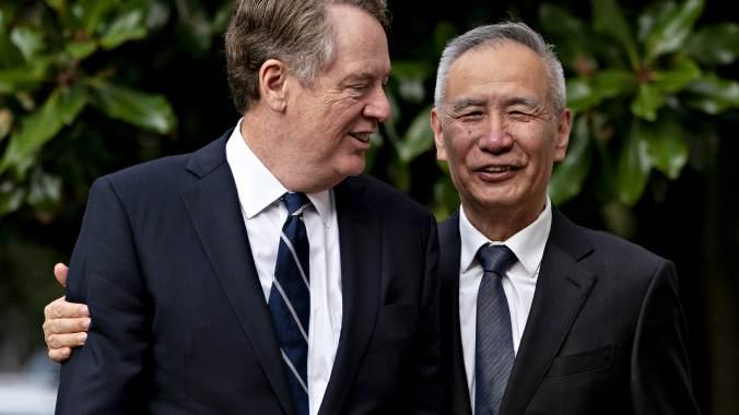 GP: Chinese Vice Premier Liu He Visits U.S. For Trade Talks
