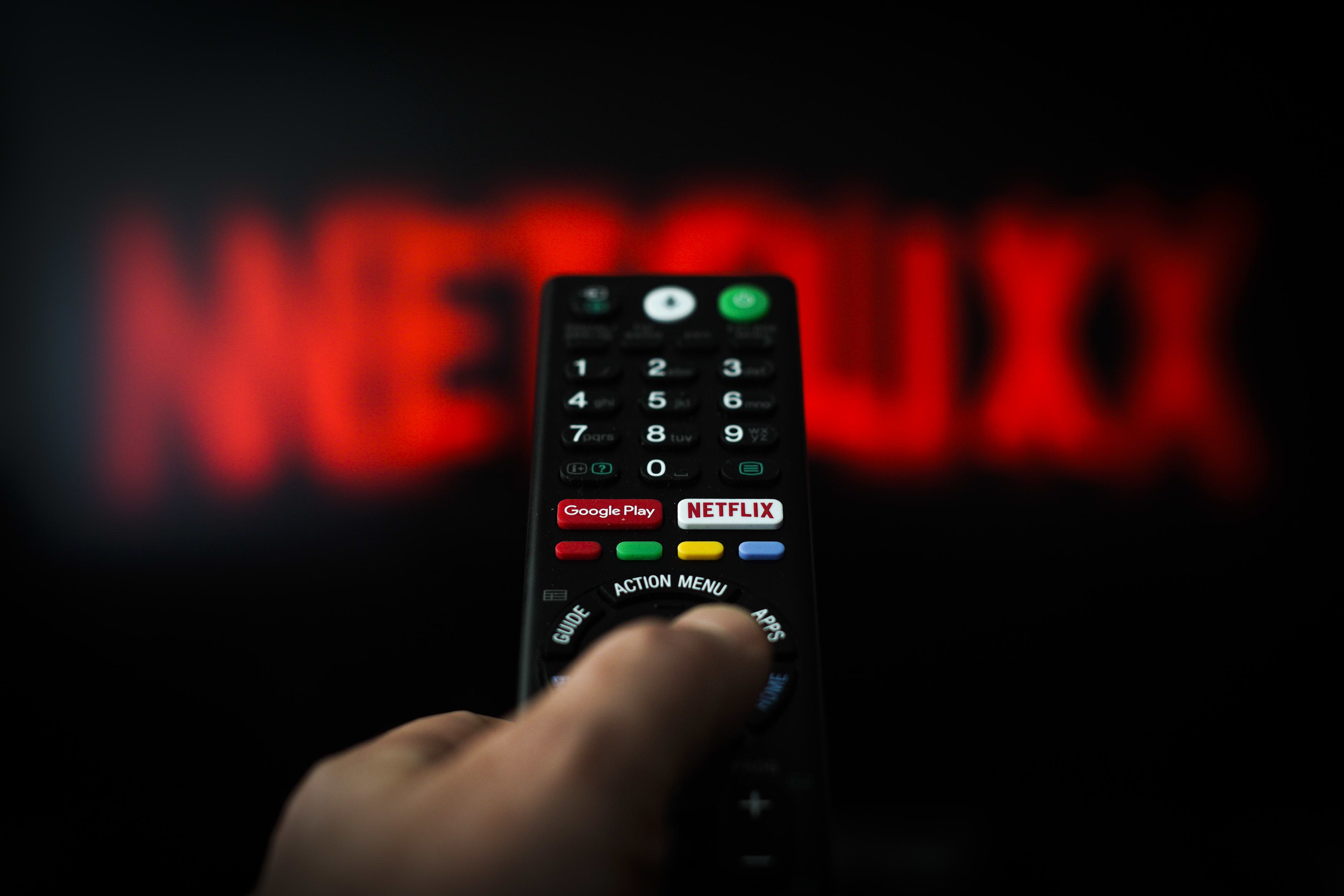 Netflix is one of the best S&P 500 performers this week amid fears of the coronavirus