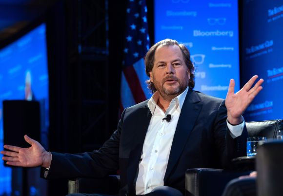 Stakeholder capitalism has reached a 'tipping point,' says Salesforce CEO Benioff