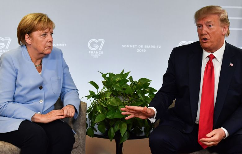 GS - President Trump and Chancellor Merkel