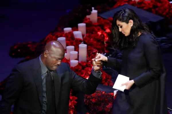 20,000 gather in LA for star-studded Kobe Bryant memorial