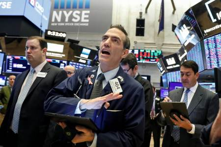 stock market live wednesday dow surges 1 173 stocks exit correction health care names jump