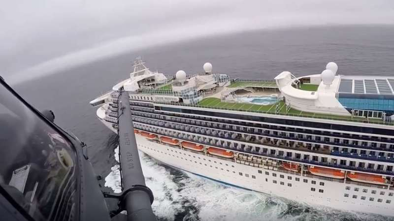 AP: Coronavirus, Grand Princess 200305