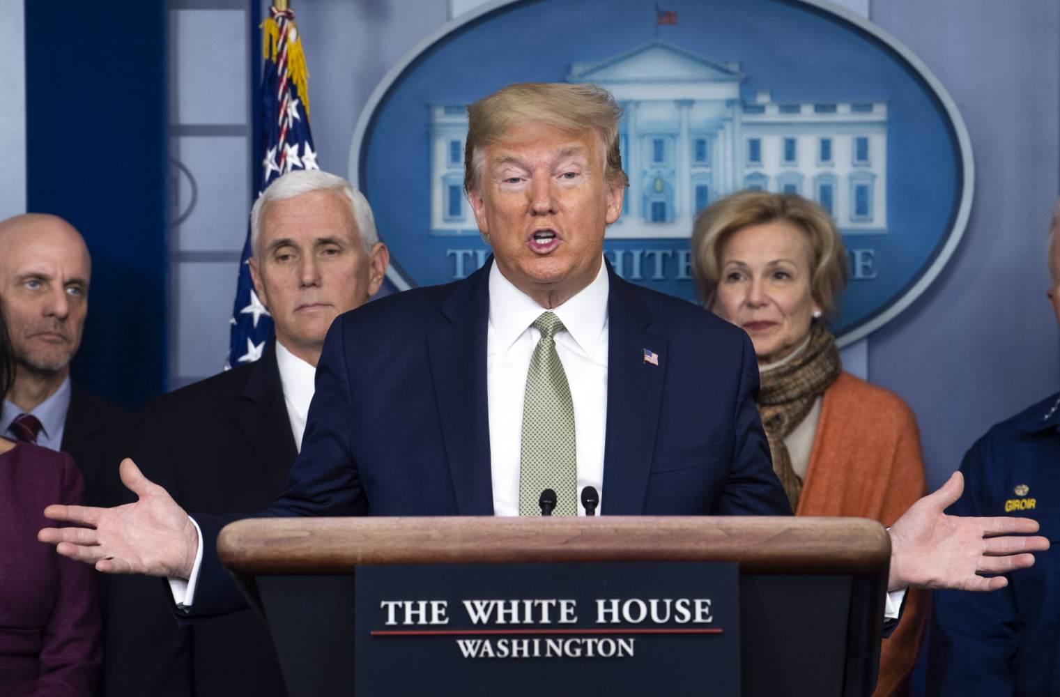 Coronavirus Criticism Trump Defends Saying Chinese Virus