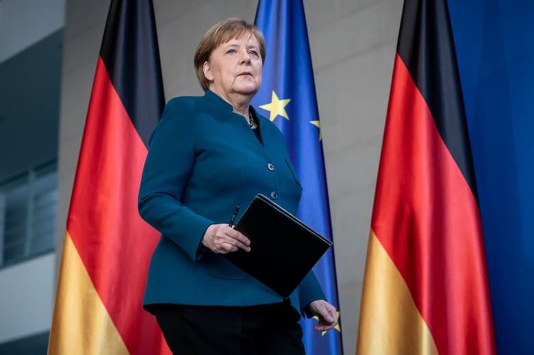 GP: Angela Merkel Coronavirus presser 200322