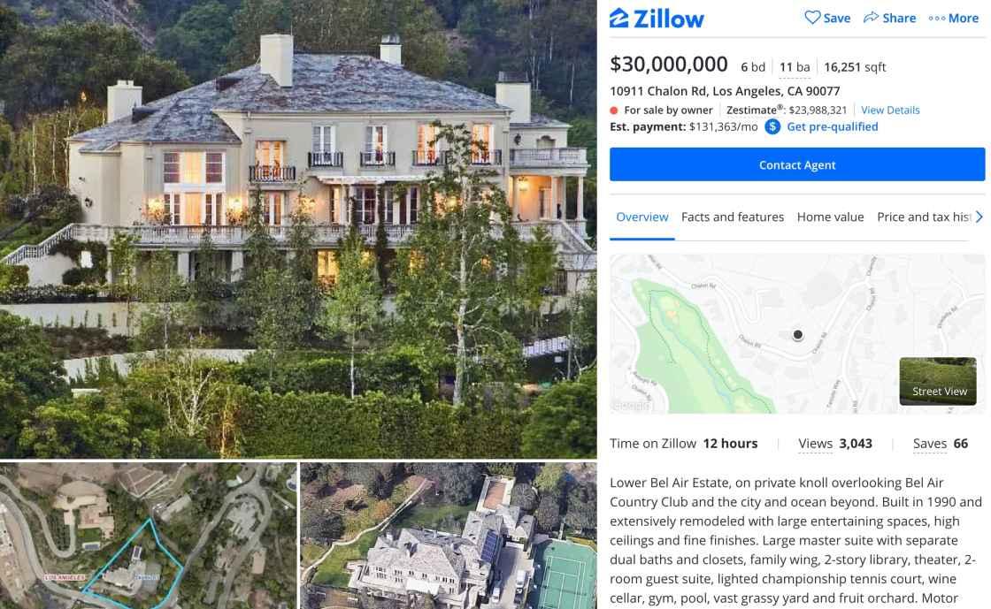 CNBC Tech: Elon Musk Mansion 2