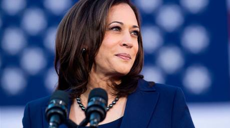 California Senator Kamala Harris speaks during a rally launching her presidential campaign on January 27, 2019 in Oakland, California.