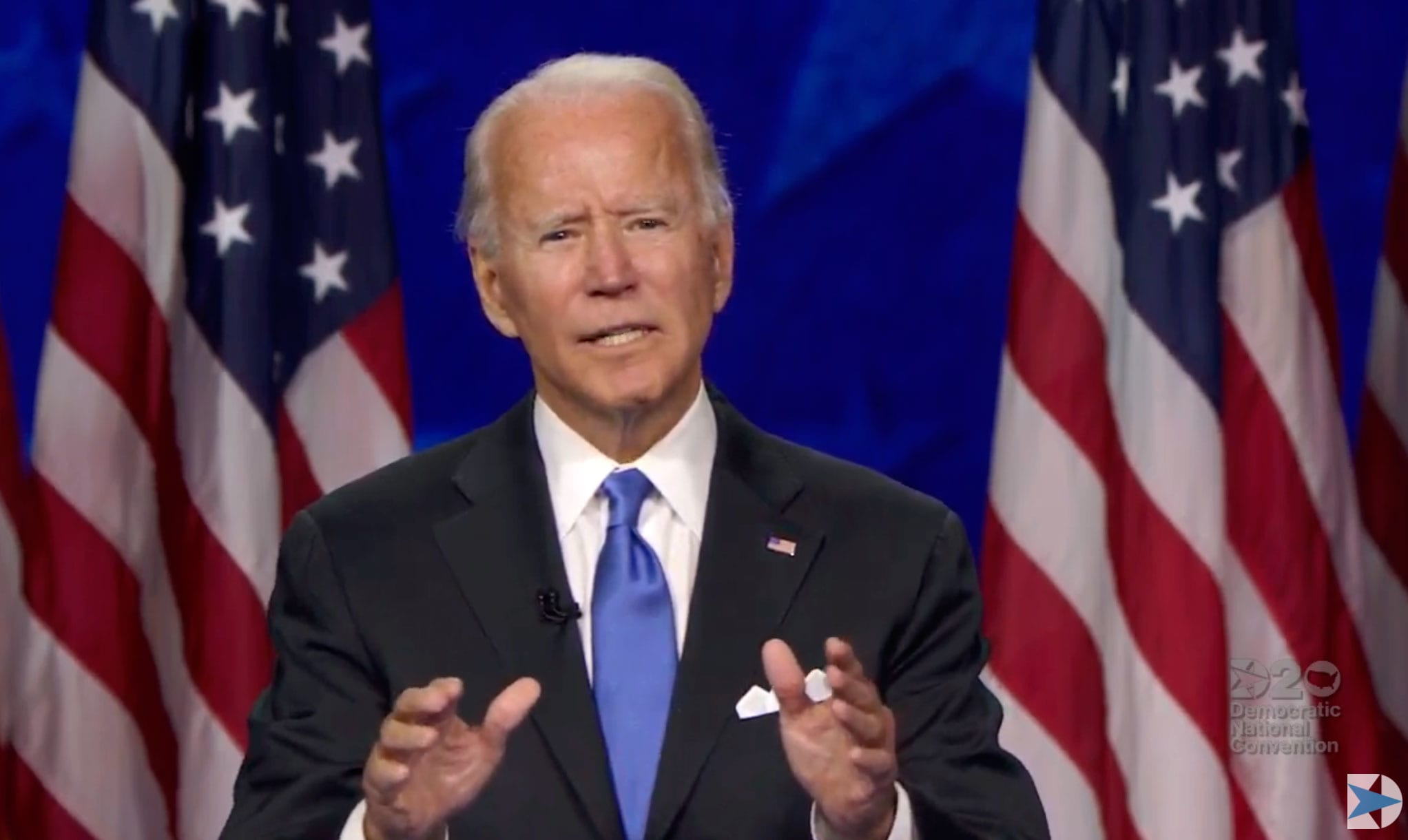 Joe Biden accepts Democratic nomination with pledge to serve 'all Americans'
