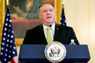 U.S. Threatens to Impose Sanctions After U.N. Arms Embargo Against Iran Expires