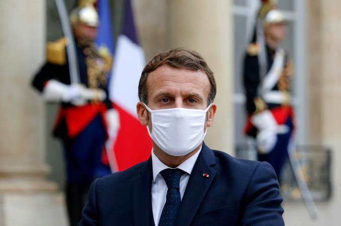 Breaking News - France President Emmanuel Catches COVID