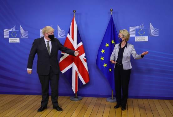 UK and EU sign historic trade deal