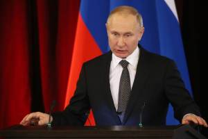 Putin warns against crossing Russia's 'red lines', talks about military