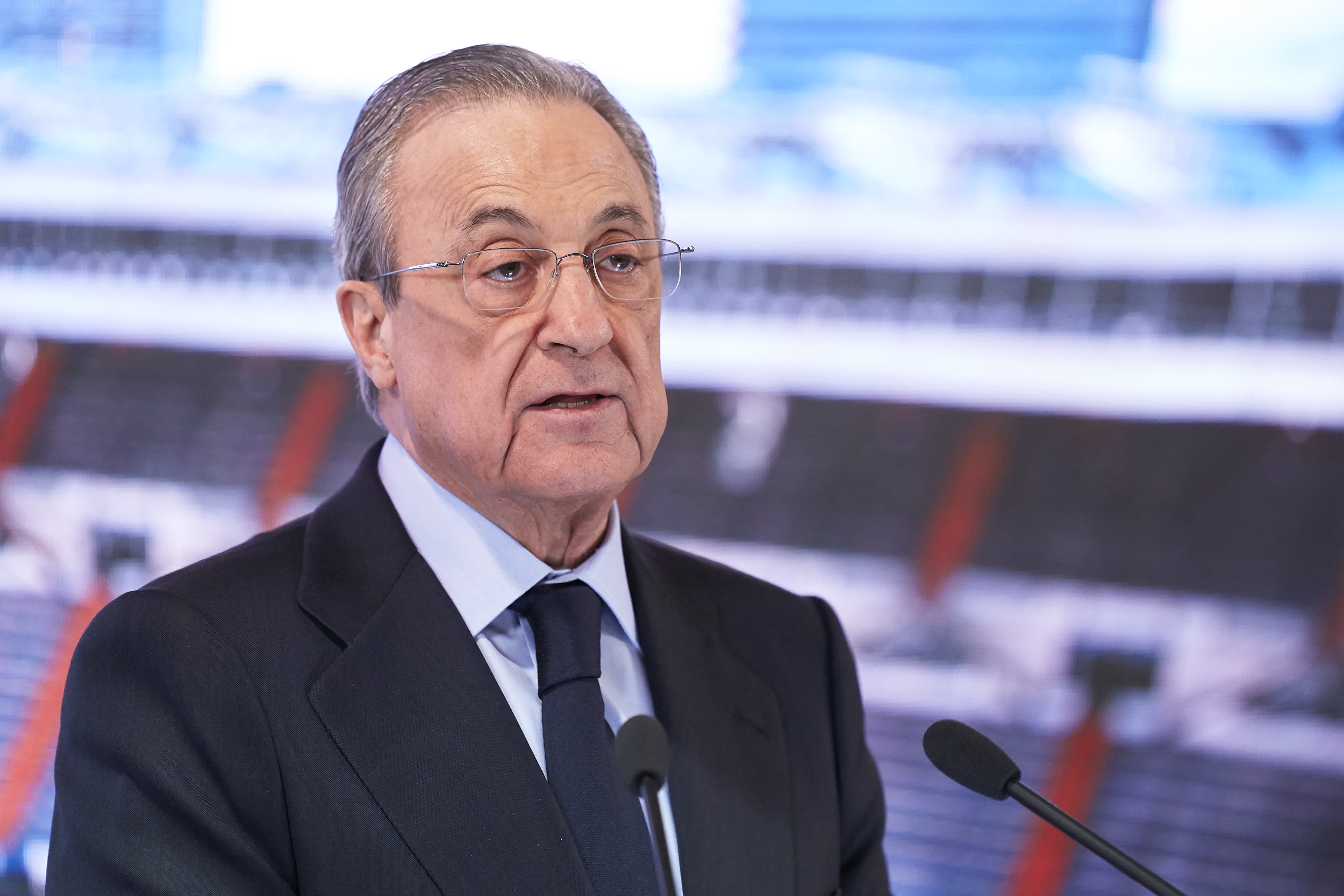 European Super League: Real Madrid president Florentino Perez says plans are not 'dead' despite withdrawals